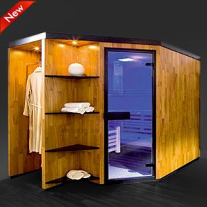 De gezonde Infrarode Cabine van de Sauna, de Zaal van de Cabine van de Sauna, de Cabine van de Sauna (SR1T2001)