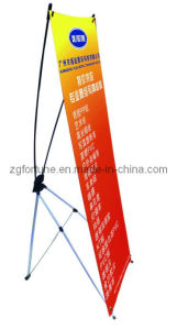 Carrinho de alumínio da bandeira de Pólo Coreia X (FZS-X-17)