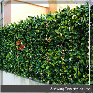 co njsunwing product Outdoor Hedges Green Plastic Garden Fence Artificial Hedge egineerug