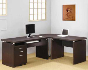 escritorio moderno del encargado de los muebles de oficinas de la melamina