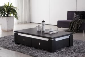Tavolino da salotto di legno dell 39 impiallacciatura della for Arredamento made in china