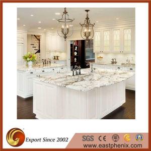 encimeras blancas del granito del ro polished para la cocina