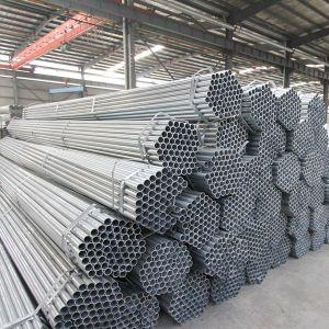 중국에 있는 Coupling와 Caps Factory를 가진 직류 전기를 통한 BS Standard Threaded Pipe