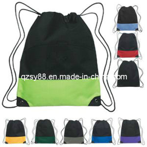 Saco da sapata de Backpak do Drawstring da forma (SYDR-005)