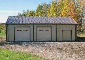 Garagem pré fabricada