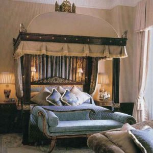 Meubles de chambre à coucher de modèle d'hôtel et meubles d'Italan