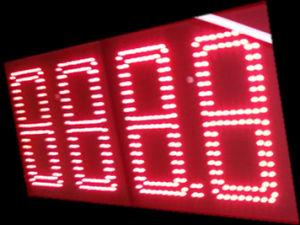 Afficheur LED de 6inch Outdoor pour Petrol Station (TT30)