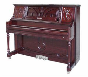 Piano droit d'instruments musicaux (F8-122) avec le système de Digitals