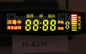 Colorful fait sur commande Digital DEL Panel Display pour Air Purifier (KT39)
