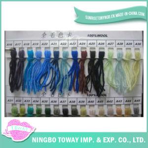Hight qualidade Pintado Camisola tecelagem de fios de lã pura