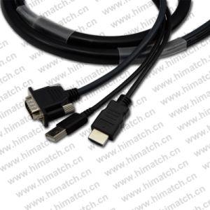 Chargeur USB HDMI vers VGA Video Converter câble