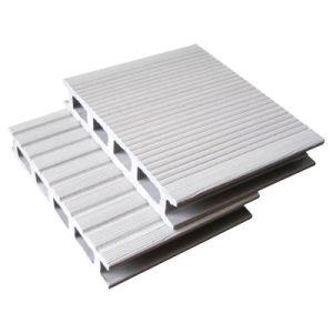 Assoalho branco do Decking da cor WPC (HO02515)