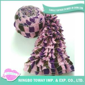 Fio acrílico Fy-082 do Crochet da fantasia de lãs do lenço do bebê do poliéster