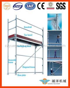 Layher de aço Speedy Facade Scaffolding para Easy Setup
