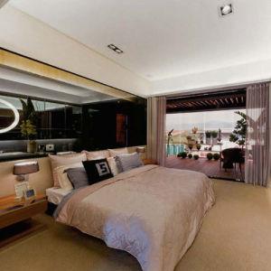 Meubles modernes de chambre à coucher d'hôtel de mode (EMT-SKA03)