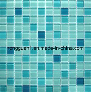 Cristal de mosaico de cristal del azulejo de pared para ba o y azulejo de suelo cristal de - Azulejos mosaico bano ...