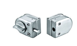Fornecedor de China do fechamento de vidro do parafuso de porta (FS-255B)