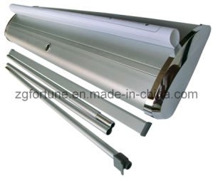 19 tipo Wide Base Aluminum Roll acima de Banner Stand (FY-LV-24)
