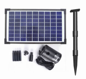 10WはFountainのためのSolar Brushless Pump Kit流れるAdjustable