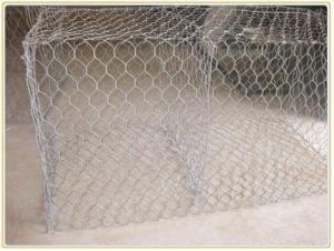 Sechseckige Draht-Filetarbeit Gabion Anping Fabrik