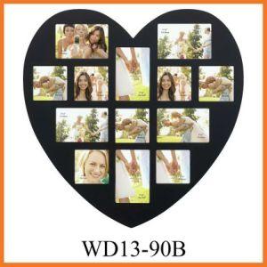 Картинная рамка MDF с формой сердца (WD13-90B)