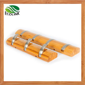 Pared de bamb ropa montados gancho gancho escudo de for Accesorios bano bambu