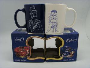 11oz Mok van de Koffie van de Mok van het Ontwerp van de Valentijnskaart van het paar de Ceramische