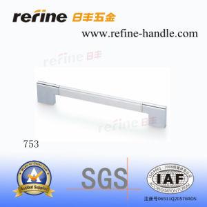 Poignée en alliage de zinc de Cabinet de matériel de meubles (T-753)