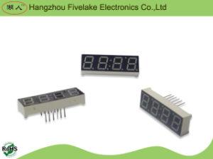 Affichage d'horloge du segment DEL des chiffres sept de 0.39 pouce 4 (WD03941-A/B)