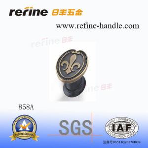 Molette en alliage de zinc de meubles (Z-858A)