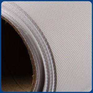 Resíduo metálico impermeável da lona da fibra química na lona do Inkjet da impressão de Digitas