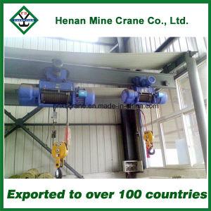 Alzamiento eléctrico de la cuerda de alambre de la grúa de 10 toneladas