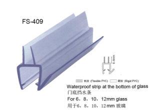 Tira de vidro da selagem para a porta do banheiro (FS-409)