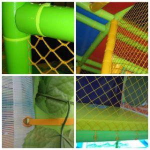 Do tema colorido plástico do castelo do CE campo de jogos interno (ST1401-2)