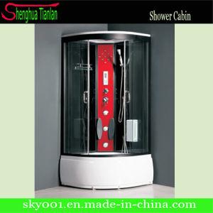 simple masaje de cristal cabina de ducha de bao sauna de vapor tl