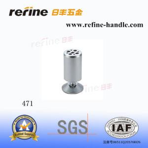 Jambe en aluminium de sofa de meubles de matériel de fer (L-471)