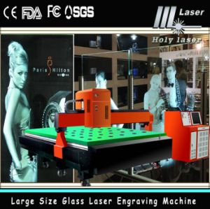 2D 3D laser Engraving Machine pour Large Size Glass Engrave (HSGP-L)