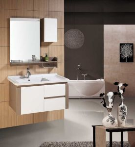 PVC浴室用キャビネットの浴室の虚栄心(JTA-050)