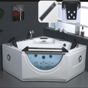 baignoire d 39 int rieur de massage de jacuzzi de station thermale de triangle ry 286 baignoire. Black Bedroom Furniture Sets. Home Design Ideas