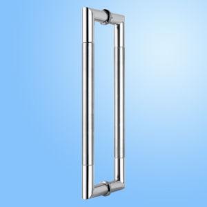 Punho de porta de vidro do aço inoxidável (FS-1824)