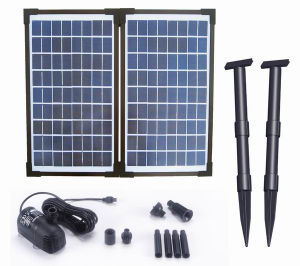 Fountainのための20W Solar Brushless Pump Kit