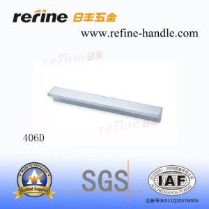 Traction en aluminium de meubles pour le matériel de meubles (L-406D)