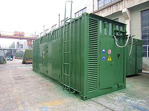Комплект генератора природного газа серии 1000kw Avespeed