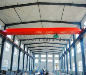Single de poca potencia Girder Bridge Overhead Crane con Hoist
