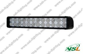 éclairage LED Bar Spot Pencil Work Light 4WD Boat Ute Driving Light (NSL-24024D-240W) de Double Row de CREE de 9~70V 20inch 240W