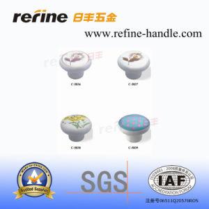 Boutons en céramique pour le Cabinet de cuisine (C-5836, C-5837, C-5838, C-5839)