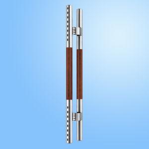Punho de vidro da tração do aço inoxidável (FS-1833)