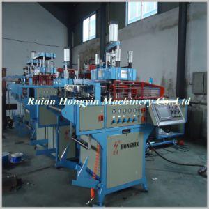 Máquina de termoformagem de plástico com Stacker (HY-510X580)