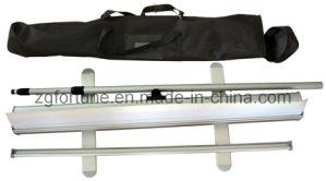 De alumínio telescópicos rolam acima o carrinho da bandeira (pés de alumínio) (FY-LV-17)