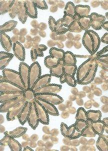 Tissu de /Lace de lacet de mode (BP-053)